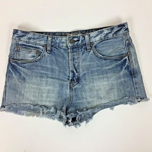 Free People Jean Shorts Size 29 Distressed